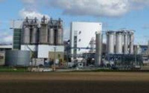 Site industriel dans la plaine de l'Ain